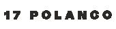 Logo 17 Polanco